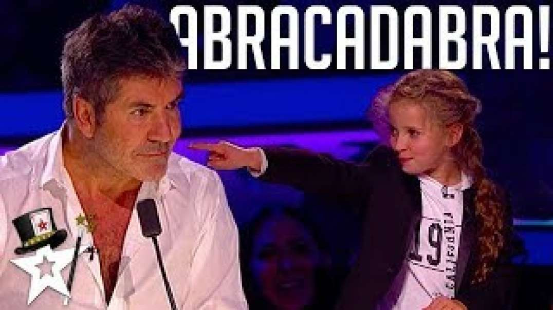 Issy Simpson, Real Life Hermione Granger Puts A Spell on Simon Cowell