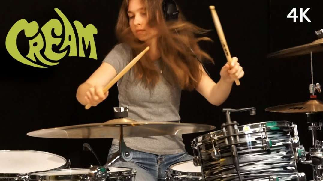 White Room (Cream) | Drum Cover by Sina