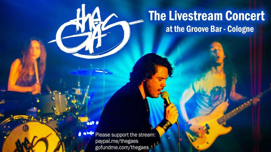 THE GÄS - LiveStream Concert - 2020, Dec 6th, live from the Groove Bar