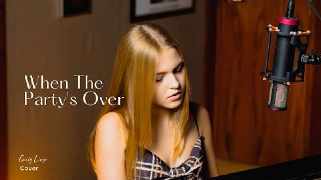 When The Party's Over - Billie Eilish - Cover by Emily Linge
